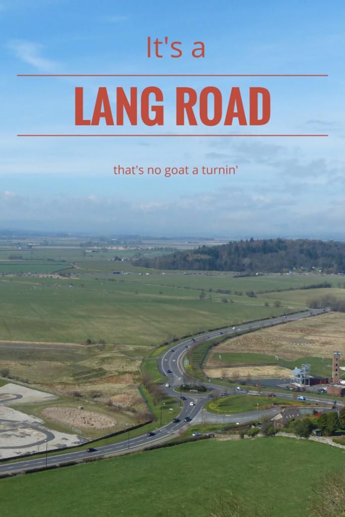 It's a lang road