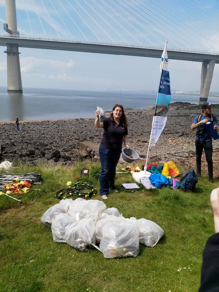 rubbish collected at Ferrycraig